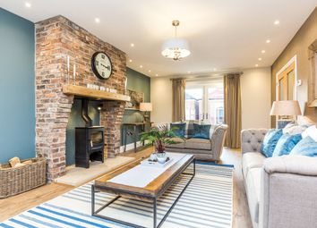 Thumbnail 4 bed detached house for sale in Thorne Lane, Scothern, Lincoln