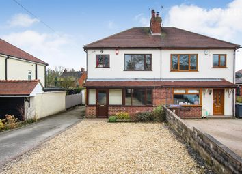 Thumbnail 3 bed semi-detached house for sale in School Road, Bagnall, Stoke-On-Trent
