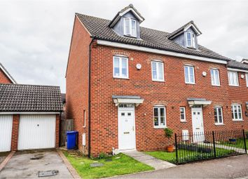 Thumbnail 3 bed semi-detached house for sale in Falcon Drive, Old Stratford