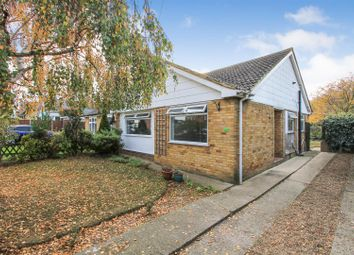 Thumbnail 2 bedroom semi-detached bungalow to rent in Fletcher Road, Whitstable