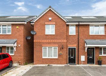 Thumbnail 3 bed semi-detached house for sale in Aldcliffe Court, Adlington, Chorley, Lancashire
