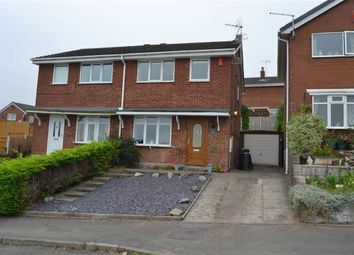 Thumbnail 2 bed semi-detached house for sale in Rennie Crescent, Cheddleton, Leek