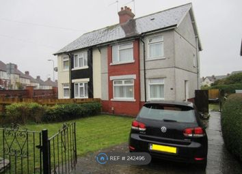 Thumbnail 3 bedroom semi-detached house to rent in Archer Road, Cardiff
