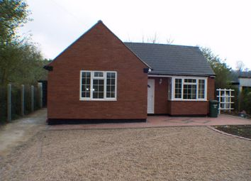 Thumbnail 3 bedroom detached bungalow to rent in Derby Road, Lower Kilburn, Derbyshire