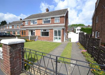 Thumbnail 3 bedroom semi-detached house for sale in Charles Avenue, New Waltham, Grimsby