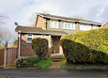 Thumbnail 4 bed semi-detached house for sale in Coates Close, Basingstoke