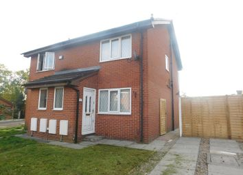 Thumbnail 2 bedroom semi-detached house for sale in Colclough Close, Manchester