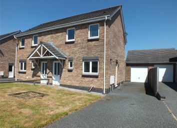Thumbnail 3 bed semi-detached house for sale in Skomer Drive, Milford Haven, Pembrokeshire