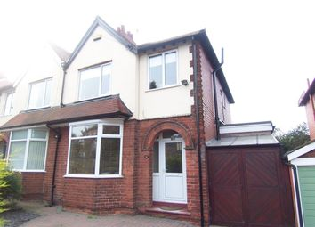 Thumbnail 3 bedroom semi-detached house to rent in Berry Hill Lane, Mansfield