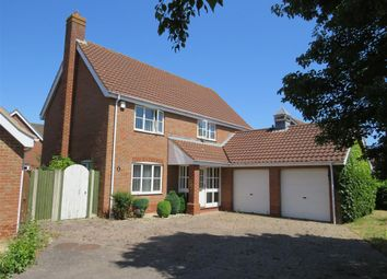 Thumbnail 4 bedroom detached house to rent in Holly Blue Road, Wymondham