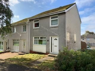 Thumbnail 2 bedroom end terrace house for sale in Inveresk Street, Greenfield, Glasgow