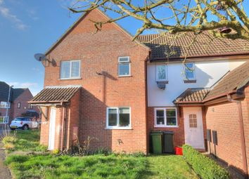 Thumbnail 1 bed terraced house for sale in Briton Way, Wymondham
