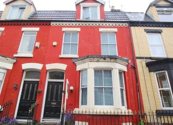 Thumbnail 5 bed terraced house for sale in Bryanston Road, Aigburth, Liverpool