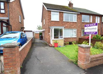 Thumbnail 3 bedroom semi-detached house for sale in Blenheim Drive, Warton, Preston
