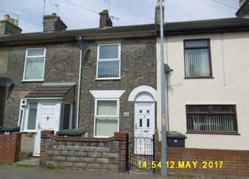 Thumbnail 2 bed end terrace house to rent in Trafalgar Road West, Gorleston, Great Yarmouth