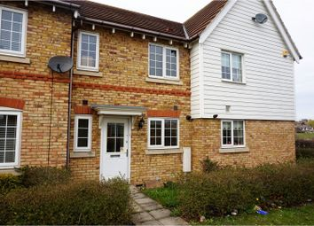 Thumbnail 2 bed terraced house for sale in Elder Walk, Sheerness