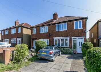 Thumbnail 3 bed semi-detached house for sale in Gander Green Lane, North Cheam, Sutton