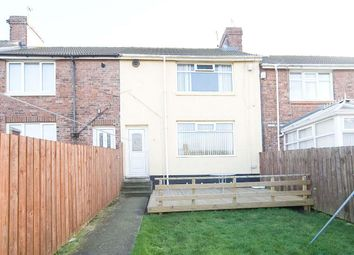 Thumbnail 2 bed terraced house for sale in Shakespeare Avenue, Blackhall Colliery, Hartlepool