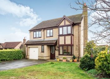 Thumbnail 4 bedroom detached house for sale in Lodge Close, Welton