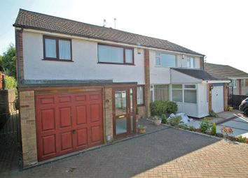 Thumbnail 3 bed semi-detached house for sale in Middlebeck Drive, Arnold, Nottingham