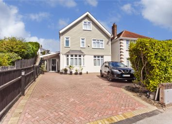 Thumbnail 5 bedroom detached house for sale in Whitecliff Crescent, Whitecliff, Poole