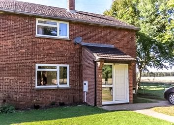 Thumbnail 3 bed end terrace house for sale in North Drive, Cranwell, Sleaford