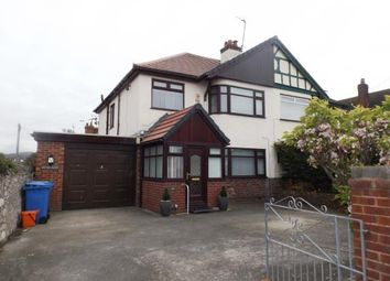 Thumbnail 3 bed semi-detached house for sale in Victoria Road, Prestatyn, Denbighshire