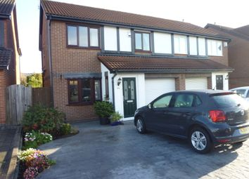 Thumbnail 3 bed semi-detached house for sale in Henshaw Grove, Holywell, Tyne & Wear