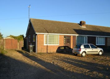 Thumbnail 2 bedroom semi-detached bungalow to rent in Hall Barn Road, Isleham, Ely