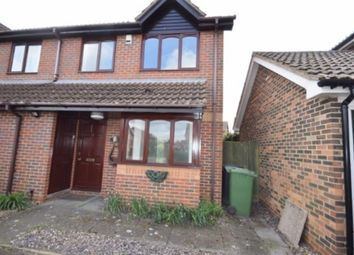 Thumbnail 3 bedroom semi-detached house for sale in Blenheim Drive, Attleborough