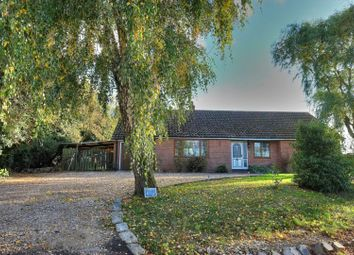 Thumbnail 3 bed detached bungalow for sale in Burgh Common, Attleborough