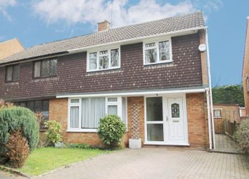Thumbnail 3 bed semi-detached house to rent in Hambro Close, East Hyde, Luton