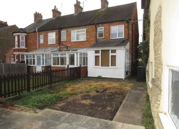 Thumbnail 2 bed end terrace house for sale in Hill Street, Raunds, Wellingborough