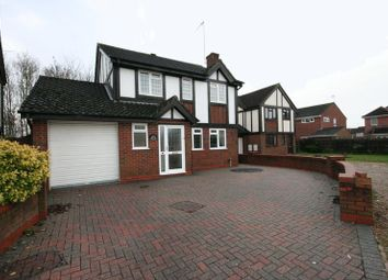 Thumbnail 4 bed detached house to rent in Kestrel Way, Buckingham