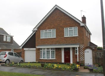 Thumbnail 4 bed detached house for sale in Ashcombe Drive, Bexhill-On-Sea