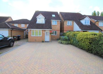 Thumbnail 4 bed detached house for sale in Stirling Way, Welwyn Garden City
