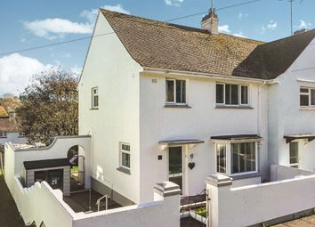 Thumbnail 3 bedroom end terrace house for sale in Garth Road, Torquay