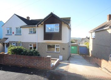 Thumbnail 4 bed semi-detached house for sale in Oakland Road, Newton Abbot