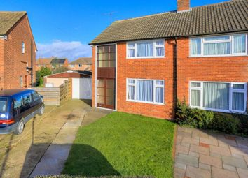 Thumbnail 3 bed semi-detached house for sale in Enslow Close, Caddington, Luton