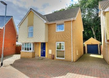 Thumbnail 4 bedroom detached house for sale in Silvo Road, Costessey