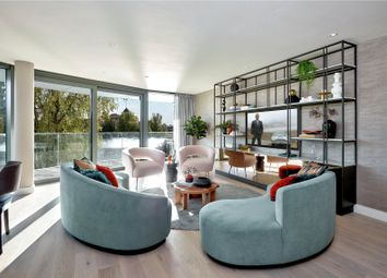 Thumbnail 3 bed flat for sale in Fulham Reach, Distillery Wharf, Parr's Way, Hammersmith