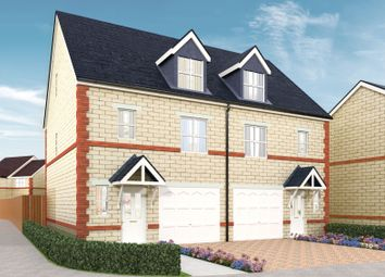 Thumbnail 3 bedroom link-detached house for sale in Limetrees, Pontefract