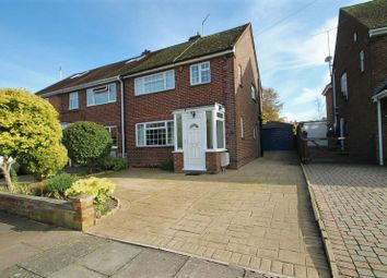Thumbnail 3 bed semi-detached house for sale in Beacon Avenue, Dunstable