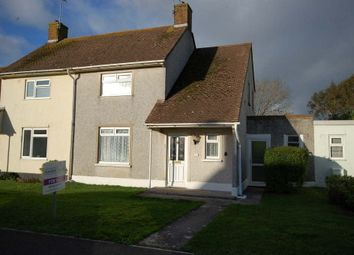 Thumbnail 2 bed semi-detached house for sale in Dewing Avenue, Manorbier, Manorbier, Pembrokeshire