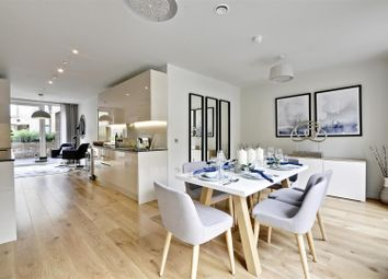 Thumbnail 4 bed town house for sale in Keelson Gardens, Brentford Lock West, Brentford