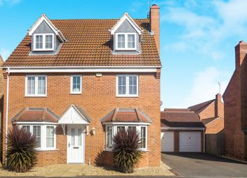 Thumbnail 5 bedroom detached house for sale in Hansel Close, Peterborough