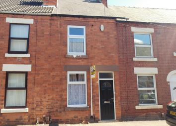 Thumbnail 2 bedroom terraced house to rent in Carlingford Road, Hucknall