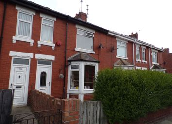 Thumbnail 3 bedroom terraced house to rent in Newbiggin Road, Ashington