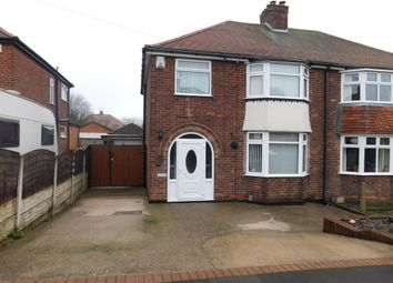 Thumbnail 3 bed semi-detached house for sale in Leabrooks Avenue, Sutton-In-Ashfield