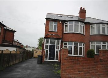 Thumbnail 5 bed semi-detached house for sale in Montagu Avenue, Leeds
